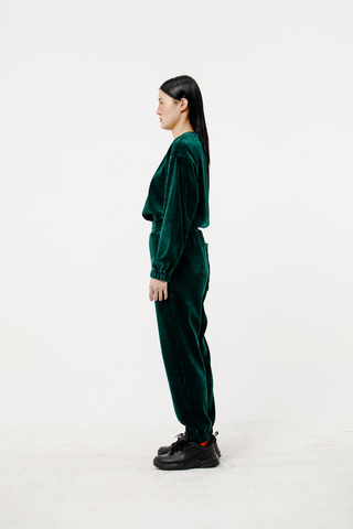 VIVIDDREAM LONG SWEATPANTS GREEN