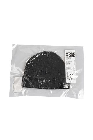 WORKWORK WOOL BEANIE BLACK