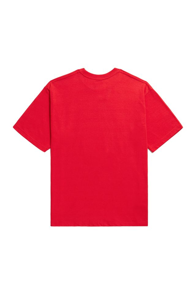 ♥ WORLDWIDE SHORT T-SHIRTS RED