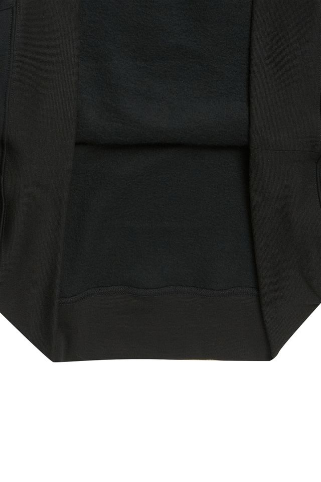 WORKWORK HOOD TEE BLACK